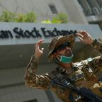Pakistan PM blames India for stock exchange attack