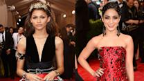 Zendaya vs Vanessa Hudgens Dresses at Met Gala 2015
