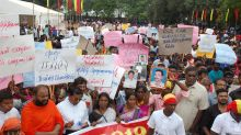 Sri Lanka's Tamil-majority north shuts down to support rally