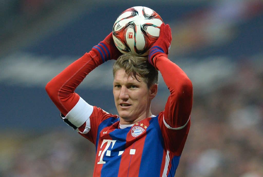Bastian Schweinsteiger won a host of trophies in the colours of Bayern Munich