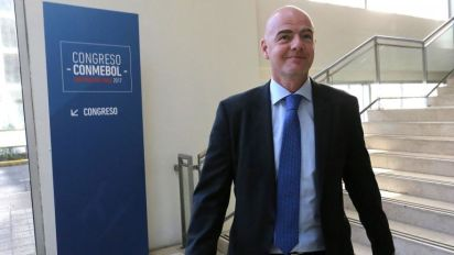 Infantino: Video referees will be used at 2018 World Cup