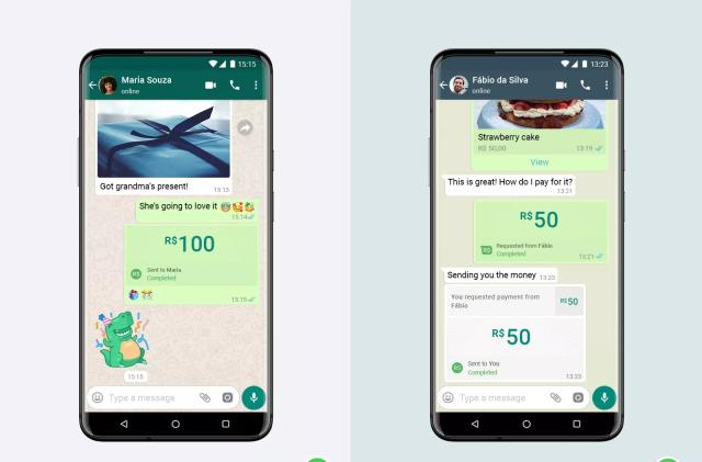 WhatsApp now lets users send and receive money in Brazil