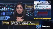 Skechers shares tank on weak outlook for the sneaker business
