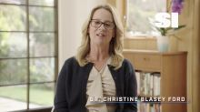 Christine Blasey Ford makes first public statement post-Kavanaugh hearing to present Larry Nassar accuser with award