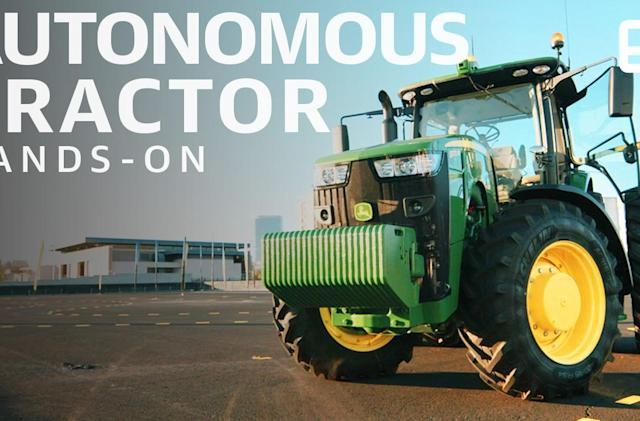 John Deere wants to remind the world that it's a tech company
