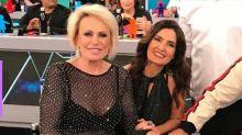Fátima Bernardes se emociona ao falar de câncer de Ana Maria Braga
