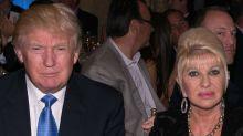 """Ivana, exesposa de Trump, calentó el resultado de la elección: """"Donald odia ser un perdedor"""""""