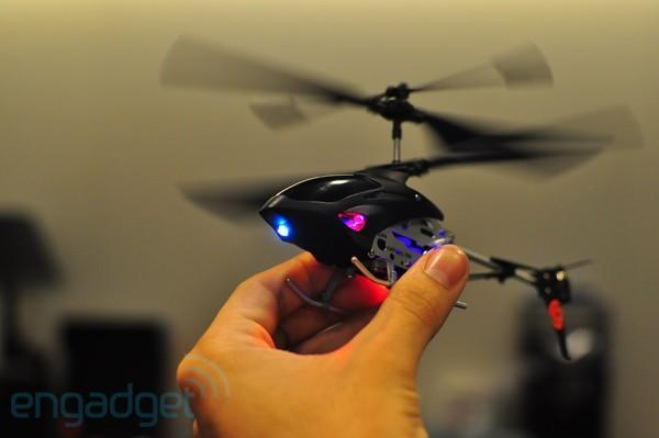 Griffin's Helo TC cleared for takeoff, we attempt to get airborne in a hands-on (video)