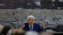 Palestinian president Abbas suffering from pneumonia, condition improving: officials