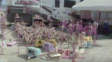 'Barbie Death Camp' Exhibit At Burning Man Festival Triggered Protest