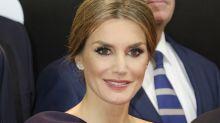 Su majestad Letizia sí que sabe de moda; mira que lección de buen vestir