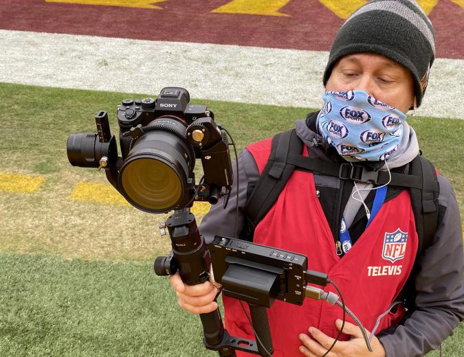 Fox Sports using Sony cameras to give football broadcasts a more cinematic look