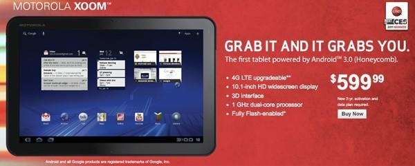 Verizon waives Xoom and Galaxy Tab activation fees on contracts from March 1st in a limited time offer