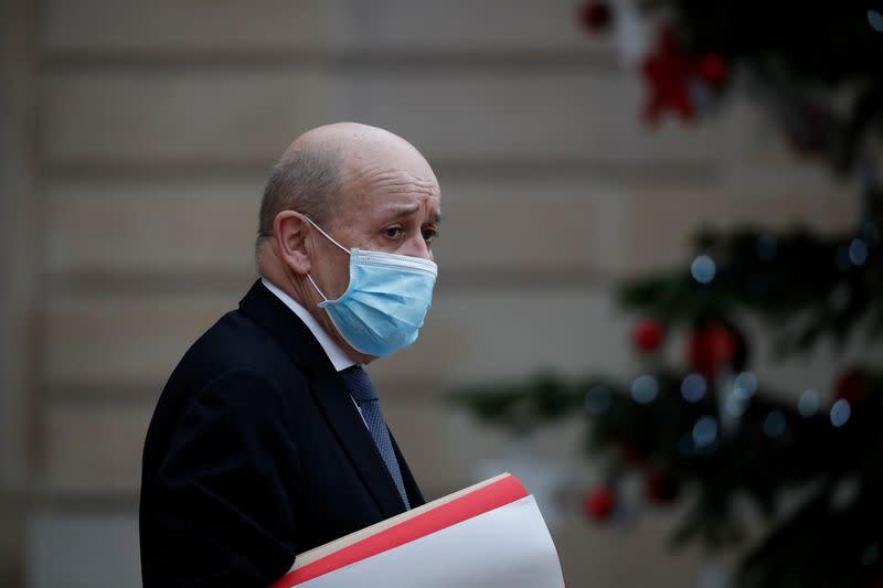 La France se tient au côté de ses alliés américains en Syrie