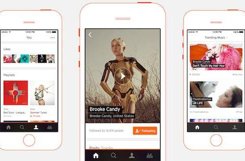 SoundCloud for iPhone gets a beautiful complete overhaul