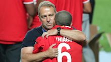 Thiago told me he's staying! – Flick jokes about Bayern midfielder's future