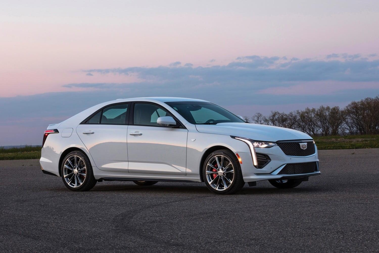 Cadillac's 2020 CT4 small sedan starts at $33,990, sporty V model tops $40,000