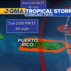 Tropical Storm Karen takes aim at Puerto Rico