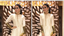 Look of the day: Karisma is radiant in this quirky Indian wear!