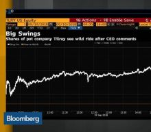Weed Stock Tilray Gains 94% Then Loses It All in Minutes