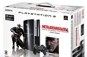 PS3 Metal Gear Solid 4 bundle at SonyStyle, no pre-order in sight