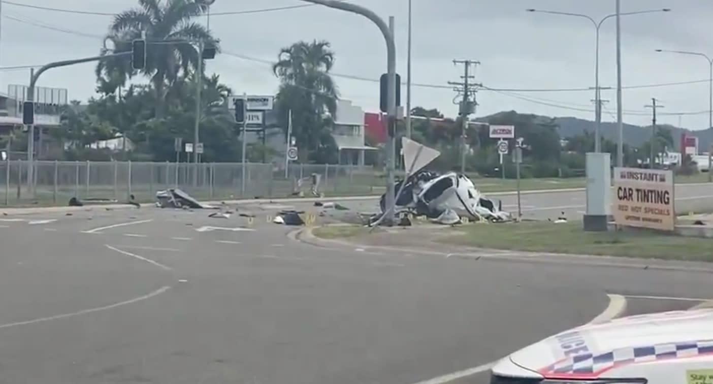 'Beyond words': Four children killed in 'horrific' crash in stolen car