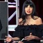 Jameela Jamil calls Karl Lagerfeld a 'fatphobic misogynist' following his death