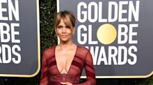 'She is hot as hell': 52-year-old Halle Berry turns heads on Golden Globes red carpet