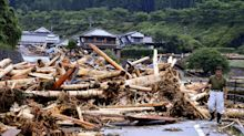 Torrential rains cause severe flooding in Japan