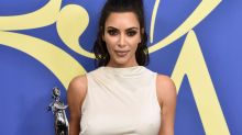 Kim Kardashian Made the Best Joke When She Accepted the CFDA Fashion Influencer Award
