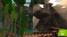 Minecraft to get big lighting, shadow and color upgrades through Nvidia ray tracing