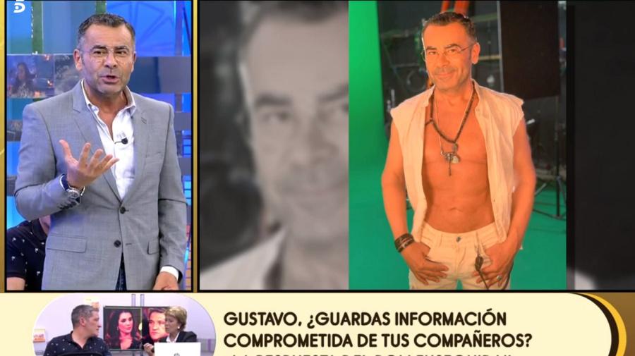 Jorge Javier Vázquez presume de físico en una promo de 'Supervivientes'