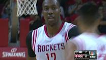 Howard's First Basket As A Rocket