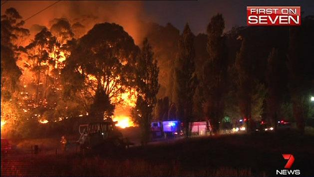 Cooler weather helps NSW firefighters