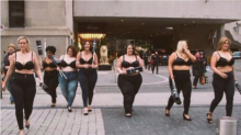 A Store Asked Women to Walk Around Wearing Jeans and No Shirt for a Really Powerful Reason