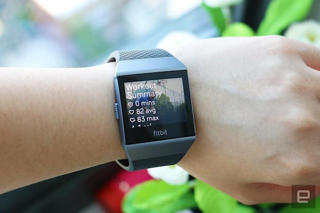 Fitbit's Ionic will let you play Deezer from your wrist