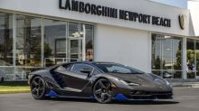 First US customer gets keys to Lamborghini Centenario