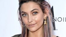 Paris Jackson Tries the Unicorn Hair Trend on for Size