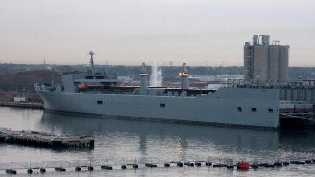 U.S. ship set to dispose of Syria's chemical weapons