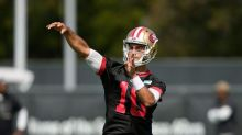 """Jimmy Garoppolo downplays awkwardness of his situation, says NFL is a """"weird"""" business"""