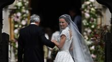 Pippa Middleton Marries James Matthews in Lace Giles Deacon Gown