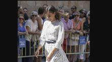 El vestido con el que Doña Letizia luce piernas y estrena nueva temporada