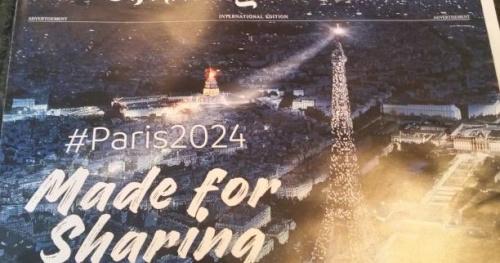 JO - Paris 2024 - La candidature Paris 2024 s'offre la Une du New York Times