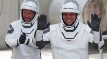 Deux astronautes américains s'apprêtent à revenir sur Terre à bord de la capsule SpaceX