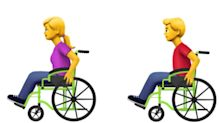 Apple proposes 13 new emoji for people with disabilities - including guide dogs and prosthetics