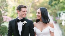 See Cheryl Burke and Matthew Lawrence's Over-the-Top, Rhinestone-Studded Wedding Cake