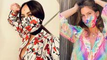 4 famosas que já estão combinando o look com a máscara