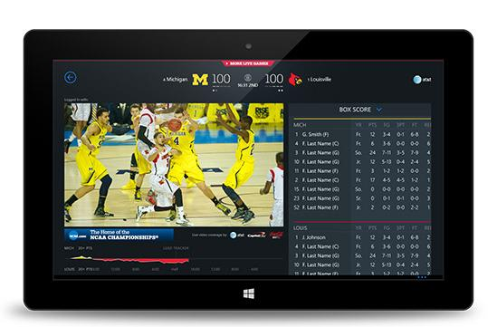 March Madness Live app dribbles its way to Windows Phone 8 this year