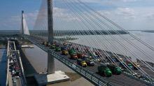 Sacyr prueba con éxito en Colombia la resistencia del puente más ancho de América Latina