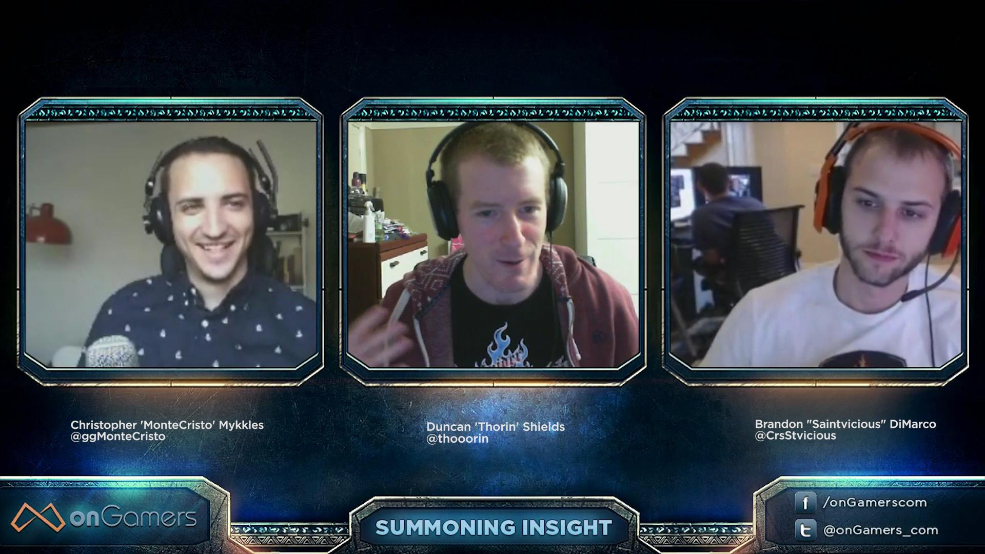 Summoning Insight Episode 19 VOD, with special guest Saintvicious